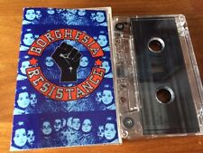 BORGHESIA - Resistance (K7 - Cassette AUDIO 1990) Electro, Industrial, EBM