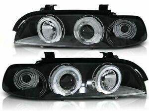 BMW 525i 530i 540i E39 1995-1998 1999 2000 2001 2002 2003 LPBM29 HEADLIGHTS HALO