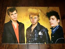 THE STRAY CATS ~ VINTAGE 1981 Eurodecor Poster!