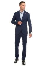 RRP €760 LUIGI BIANCHI MANTOVA Wool Suit Mismatch Size Jacket 50 Trousers 48