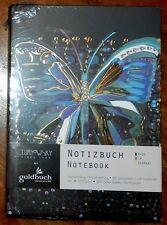 Notizbuch Notebook Flower Butterfly Brand NEW  German