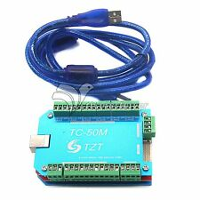 50KHz CNC USB MACH3 Interface Board Motor Driver 6 Axis Breakout Card Controller