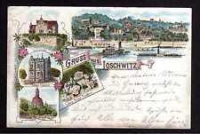 109249 AK Dresden Loschwitz Litho 1893 Vorläufer Kirche Postamt Burgberg Ludwig