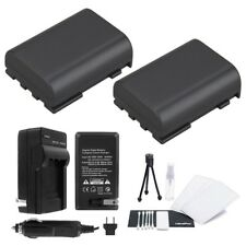 NB-2L / NB-2LH Battery 2-Pack Bundle with Rapid Travel Charger and UltraPro...