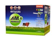 VetGun VetCaps 150 Aim-A GelCaps Cattle Insecticide 150 count Abamectin MPN621