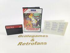 "Sega Master System "" Wonder Boy in Monster World ""   Ovp   Sega Mastersystem MS"