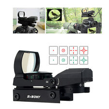 Top 1 Reflex Red Green Dot Sight Scope 4Patterned Reticle for Camera Shooting