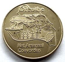 Dutch Heritage Collectors Coin 2013 Drenthe Het Arsenaal Coevorden UNC Token E65