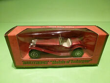MATCHBOX YESTERYEAR Y-3 RILEY MPH 1934 - 1:35 - RARE SELTEN - NMIB