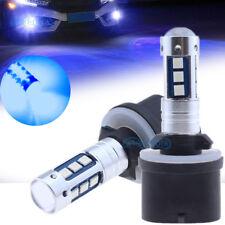 880 899 PG13 1600LM Blue Car High Power 3030 SMD LED Fog Driving Light Bulbs