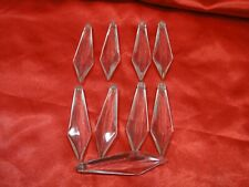 New listing Lot Of 9 Vintage Chandelier 3 Inch Glass Prisims