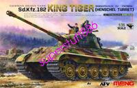 Meng TS-031 Model 1/35 German Sd.kfz.182 King Tiger Henschel Turret Hot