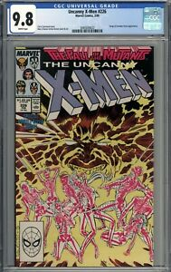 Uncanny X-Men #226 CGC 9.8 NM/MT Forge & Freedom Force Appearance WHITE PAGES