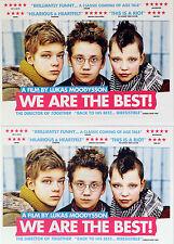 WE ARE THE BEST FILM MOVIE POSTCARDS X 2 - LIV LEMOYNE SWEDEN PUNK