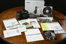 Canon EOS 30D 8.2mp Digital DSLR Camera Body Black Very Low Shutter Count