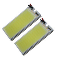 2X 12V Truck Car White 36COB LED Xenon HID Dome Light Bulb Interior Panel Lamp W