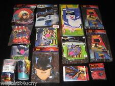 Batman Party Set # 14 Batman Supplies Tablecloth Plates Napkins Cups