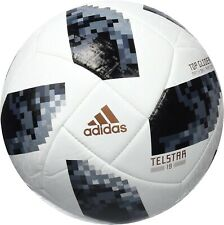 Adidas Telstar 18 Fifa World Cup Russia Replica Soccer Ball Top Glider, Size 5
