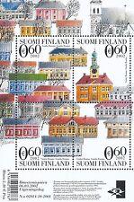 Finland 2002 MNH Sheet - Rauma - Nordic Wooden Town - UNESCO World Heritage List