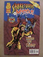 Sabretooth & Mystique #1 Marvel Comics 1996 Series 9.4 Near Mint