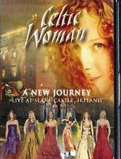 CELTIC WOMAN A NEW JOURNEY LIVE SLANE AT CASTLE IRELAND (DVD & FREE CD SET)