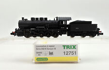 TRIX N SCALE 12751 SNCF BR 050 0-10-0 STEAM ENGINE AND TENDER #B.705