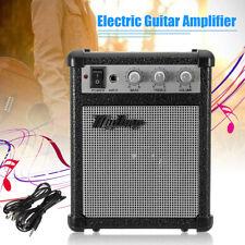 UK 4'' Micro Portable 5-watt Battery Powered Guitar Amp Amplifier 4 ohms w/ USB