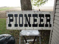 """Vintage 1940's 50's Pioneer Seed Corn 30"""" Masonite Sign Farm"""