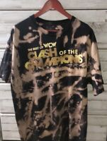 "❗️❗️ Vintage Original WWF x WCW ""Clash of the Champions"" T-Shirt - XL"