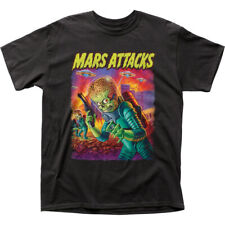 Mars Attacks Fantasy Thriller Comedy Movie Ufos Attack Adult T-Shirt Tee