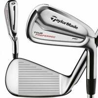 New TaylorMade Tour Preferred MC 7 Iron With KBS Tour Regular Flex Steel Shaft