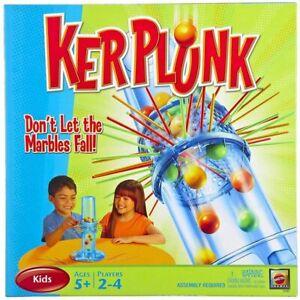 NEW - Mattel: KERPLUNK (Retro Edition)  Board Game