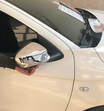 Peugeot 301 2012 Onwards Chrome Mirror Cover 2Pieces Stainless Steel