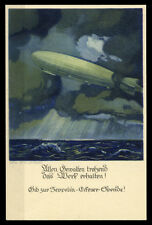 Zeppelin Postkarten Brief (1800325659)