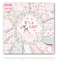 IT'S A GIRL! - 6x6 Paper Pad - 64 Sheets - First Edition - Stunning