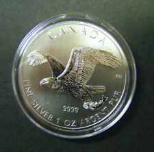 2014 Canada $5 Birds of Prey Series Bald Eagle 1oz Silver Bullion Coin Canadian