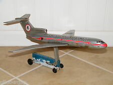 RARE! ANTIQUE: NGS AMERICAN AIRLINES BOEING 727 TIN AIRPLANE, LITHO, AIRLINE