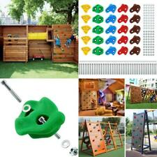 Rock Climbing Holds Wall Grips for Indoor Outdoor Play Set Kids Adult 25 Count
