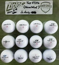 "Top-Flite ""Near Mint"" Aaaa Used Golf Balls 1 Doz. Washed"