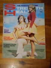 STRENGTH & HEALTH bodybuilding muscle magazine FSU CHEERLEADERS 9-73