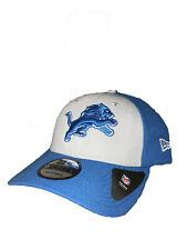 finest selection 0832f b0b9c Detroit Lions New Era The League Blocked 9FORTY Adjustable Hat - Gray Blue