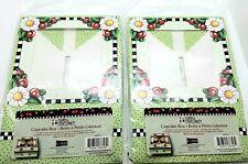 Mary Engelbreit Theme 2009 Nos Cupcake Boxes Euc Unopened