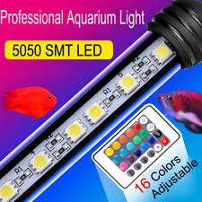 16 Colors Waterproof 5050 SMD LED Aquarium Light For Fish Tank With Remote 220V