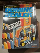 Domino Rally Motorized Domino Dealer Vintage 1992 Complete Pressman Toy TESTED