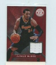 JAVALE MCGEE 2012-13 Panini Totally Certified  Red Game-Worn Jersey Relic
