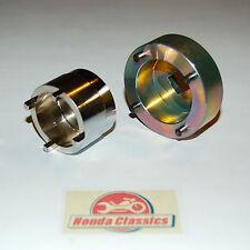 Honda Fr & Rr Wheel Bearing Retainer Tool Set CB750 K0 K1 K2  to K8 SOHC. HWT057