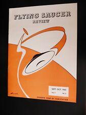 Kgufo Flying Saucer Review Magazine 1961 Ufo Satellites Loch Ness Monster Nicaps