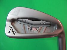 PING S56 Single Iron Golf Club #7. Black Dot
