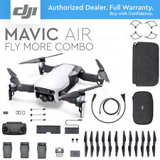 DJI MAVIC AIR Foldable & Portable Drone 4K Camera ARCTIC WHITE - FLY MORE COMBO