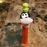 Disney Goofy Pez Dispenser with feet Hungary 1990s (Crooked Face)